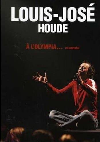 Louis-José Houde | Pochette du DVD Louis-José Houde à l'Olympia